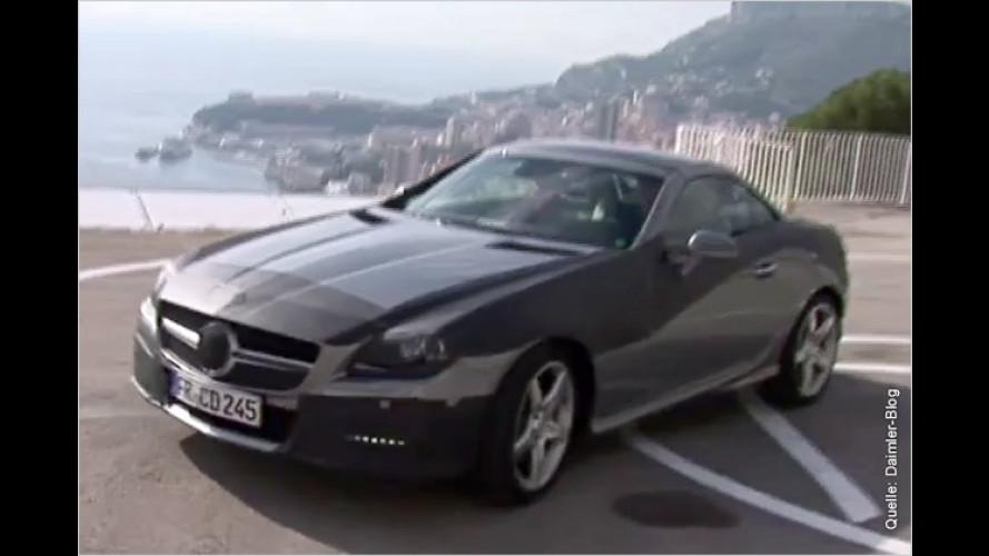 Neuer Mercedes SLK im Video