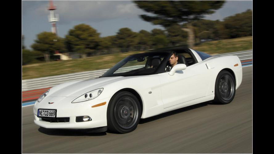 Herausgeputzt und austrainiert: Die Corvette C6 für 2008