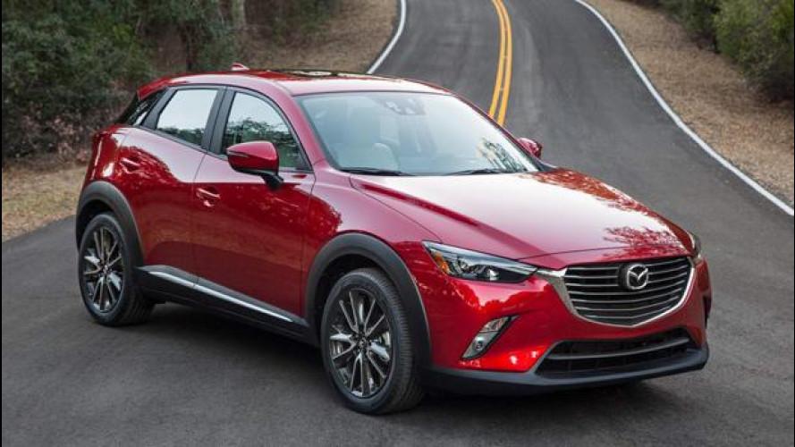 Con la CX-3, Mazda punta alla leadership tecnologica del segmento