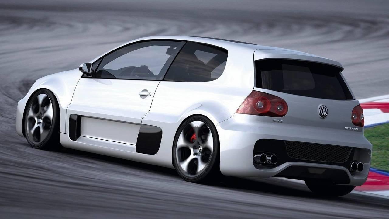 2007 VW Golf GTI W12 concept