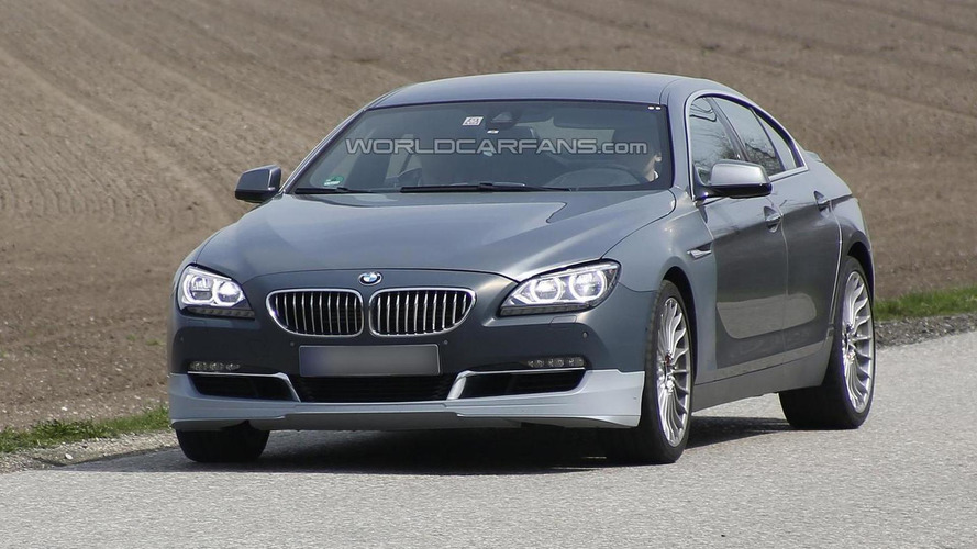 Alpina 6-Series GranCoupe spied for first time