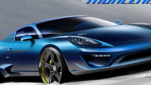 StudioTorino Moncenisio announced, based on the Porsche Cayman S