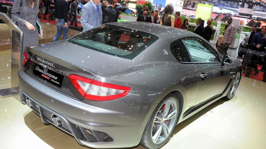 2013 Maserati GranTurismo MC Stradale four-seater launched in Geneva