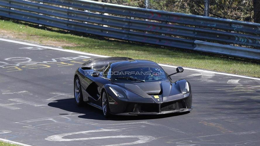 1050 bhp LaFerrari XX comes into focus