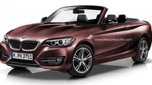 BMW 2-Series Cabrio and GranCoupe digitally imagined