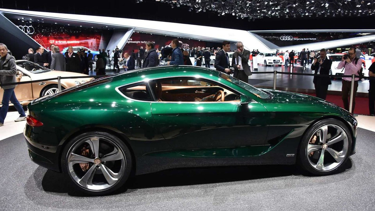 ... Two Seater Sports Car. Bentley EXP 10 Speed 6 Concept At 2015 Geneva  Motor Show