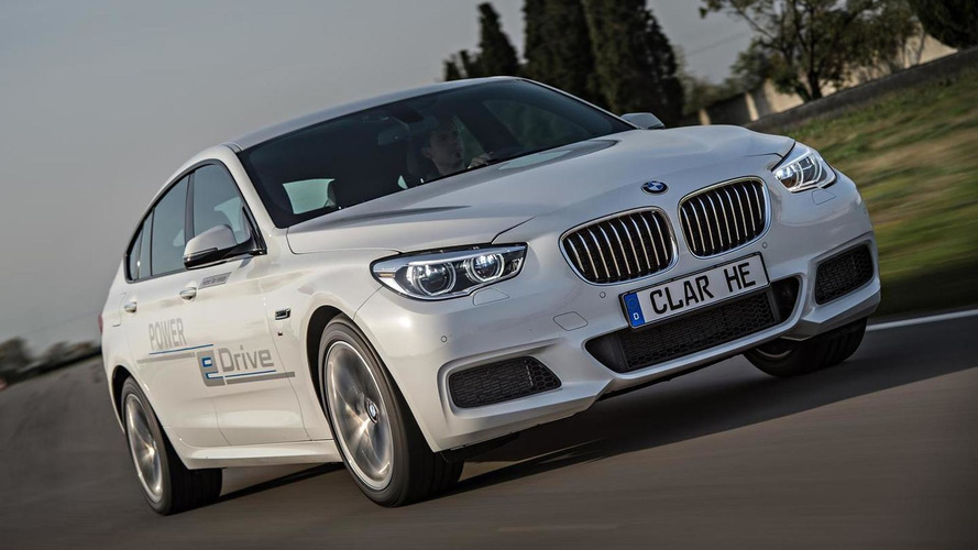 BMW shows off 5-Series GT with eDrive and TwinPower Turbo hybrid setup