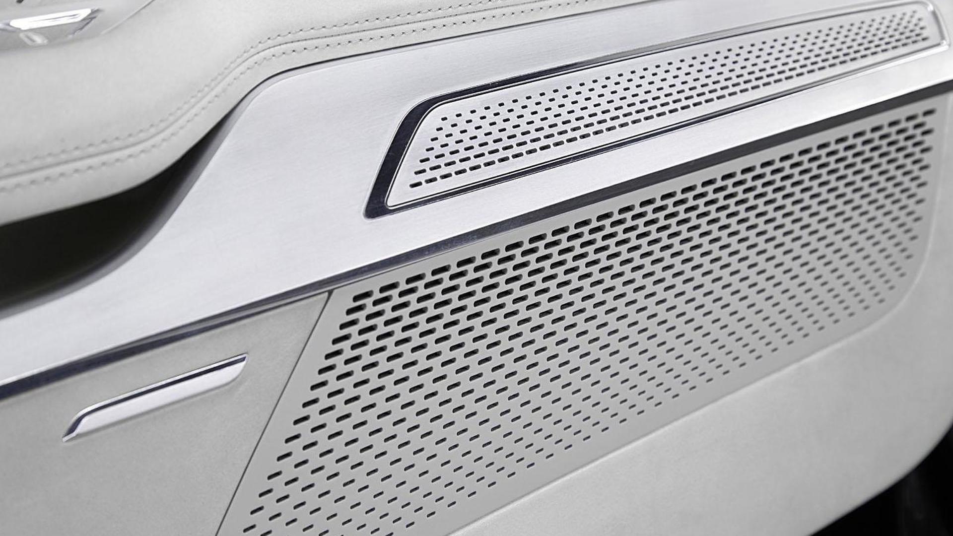 Премиальный звук в салоне Audi Prologue Piloted Driving