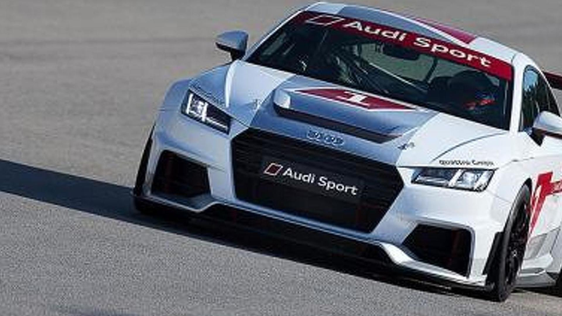Audi TT Race Car Revealed Will Compete In New Singlemake Series - Audi new series