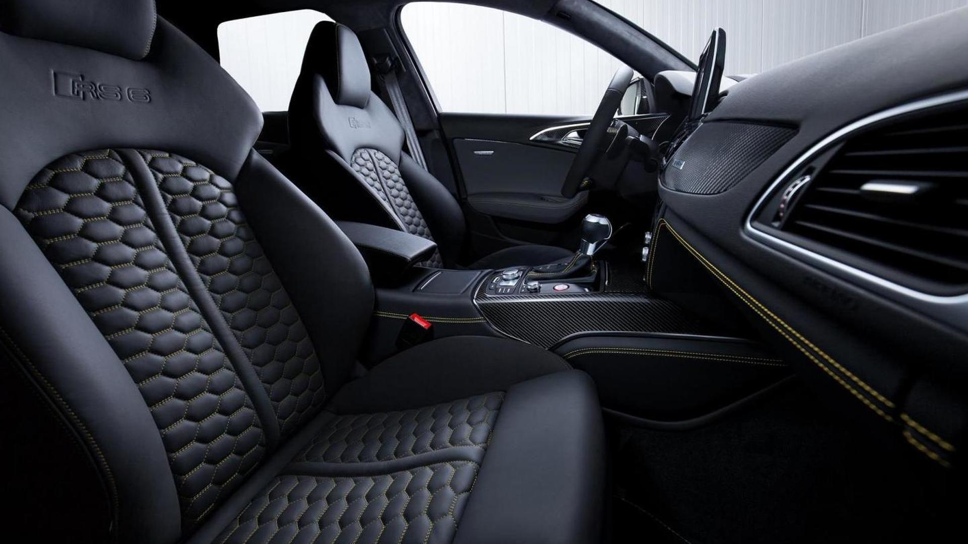 Фото салона Audi RS6 Avant от Audi Exclusive