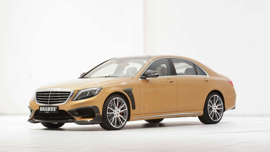 Brabus show off their gold Mercedes-Benz S63 AMG with 1,450 Nm torque
