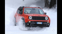 Jeep Renegade, il test in Svezia