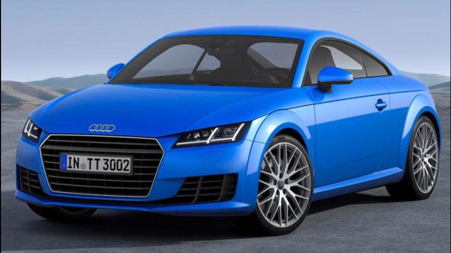 Nuova Audi TT, ritorno alle origini