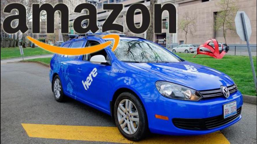 Amazon vuole le mappe di Audi, BMW e Mercedes