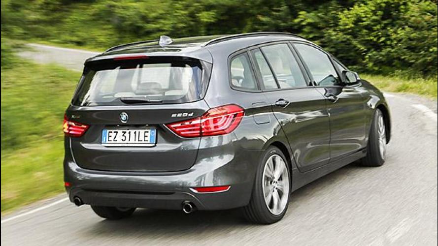 BMW Serie 2 Gran Tourer, famiglia allargata
