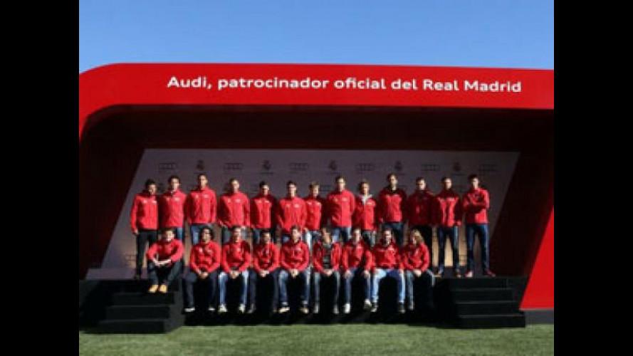 Audi consegna le nuove auto ai giocatori del Real Madrid