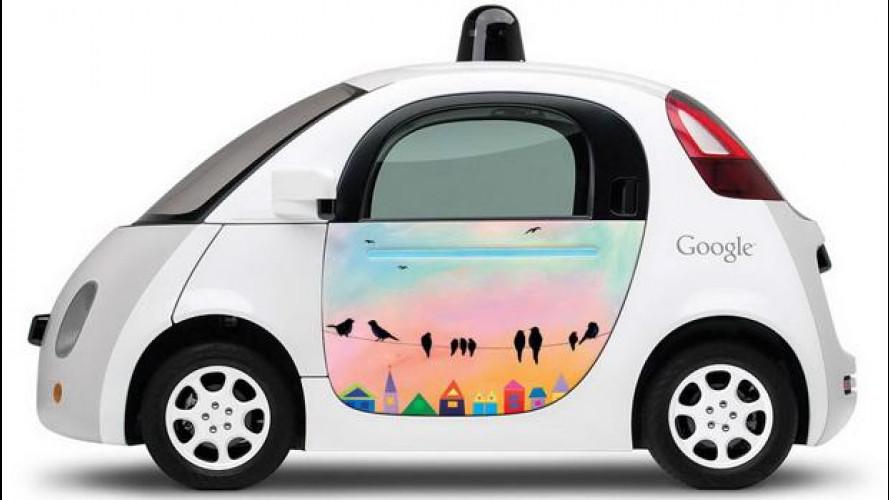 Google Car, questo il look delle 10 su strada in California