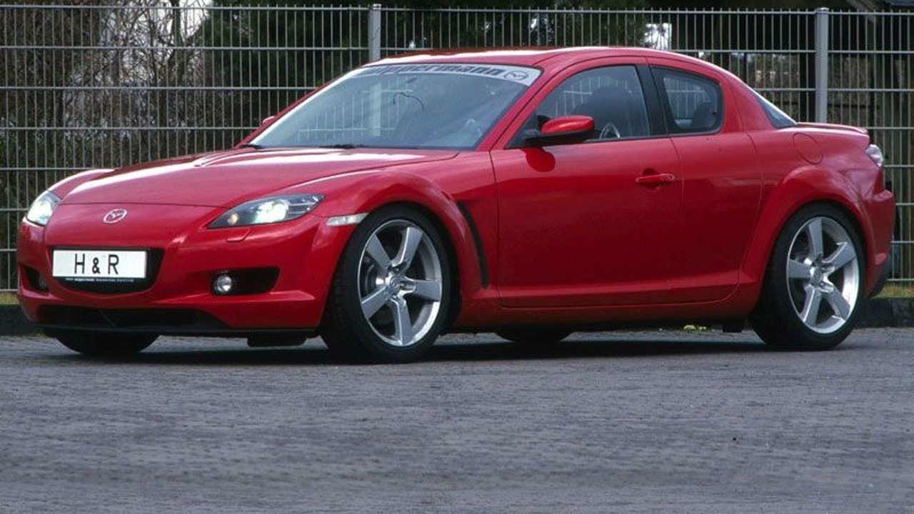 Mazda RX-8 with H&R Suspension