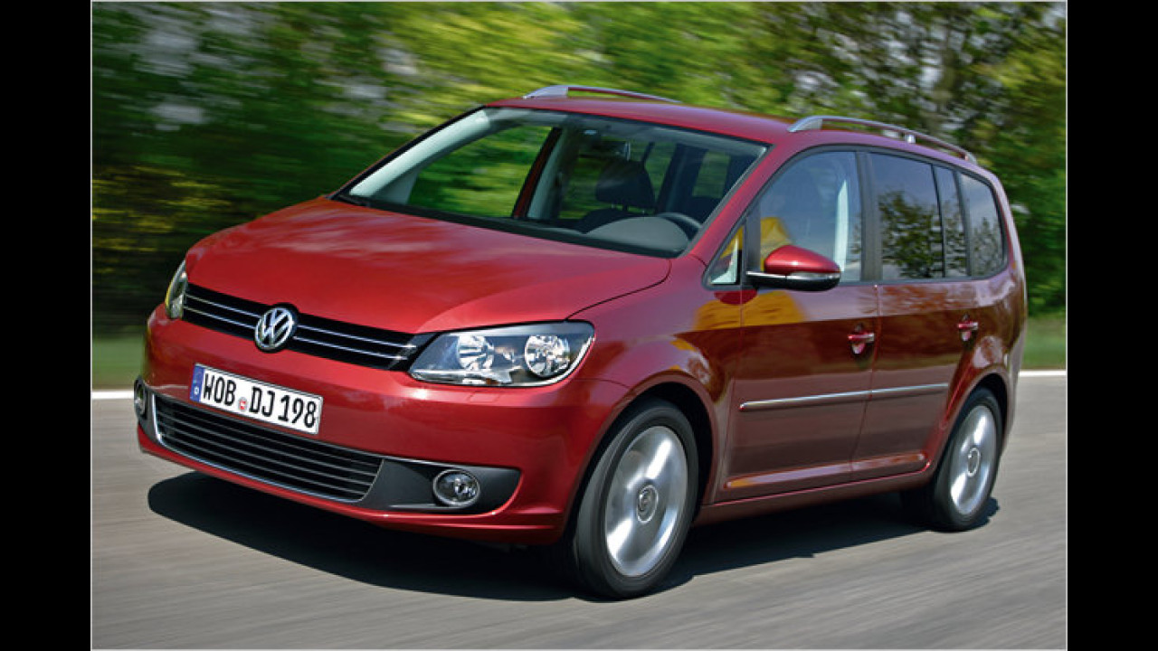 VW Touran 1.6 TDI BlueMotion Technology Trendline