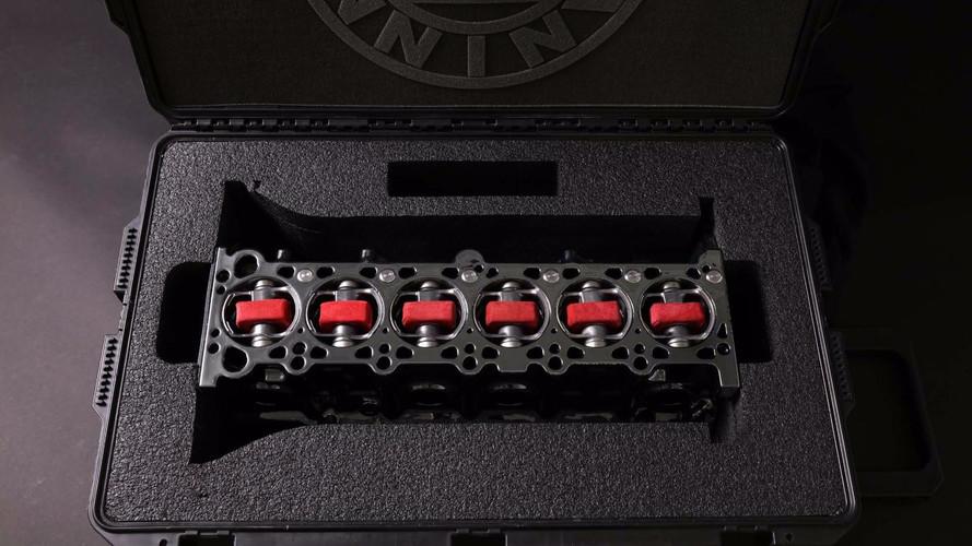 Bu BMW M3 motor bloğu aslında bir şarj cihazı