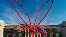 Alfa Romeo Centenary central sculpture at Goodwood Festival of Speed 2010, 01.07.2010