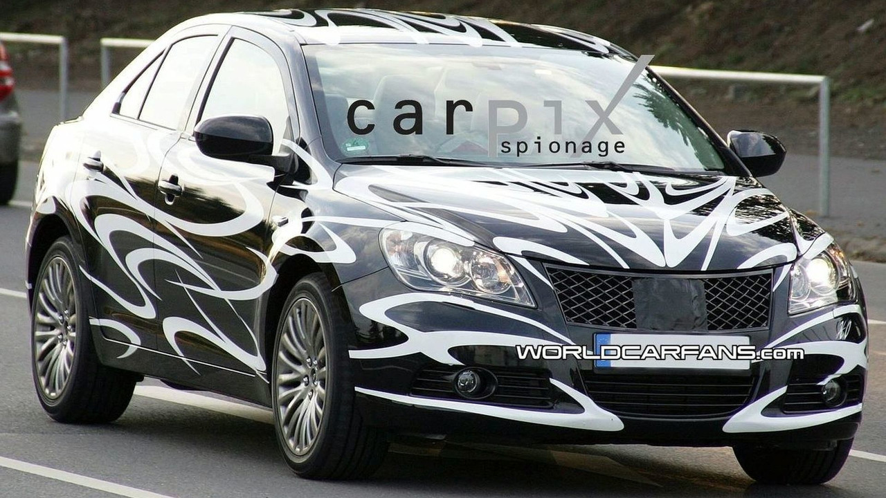Spy Shot of the Suzuki Kizashi