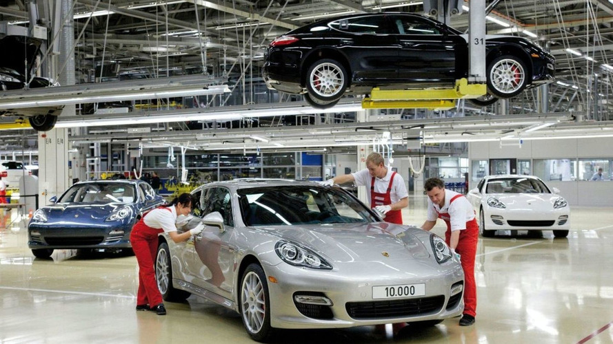 Porsche Produces 10,000th Panamera at Leipzig plant