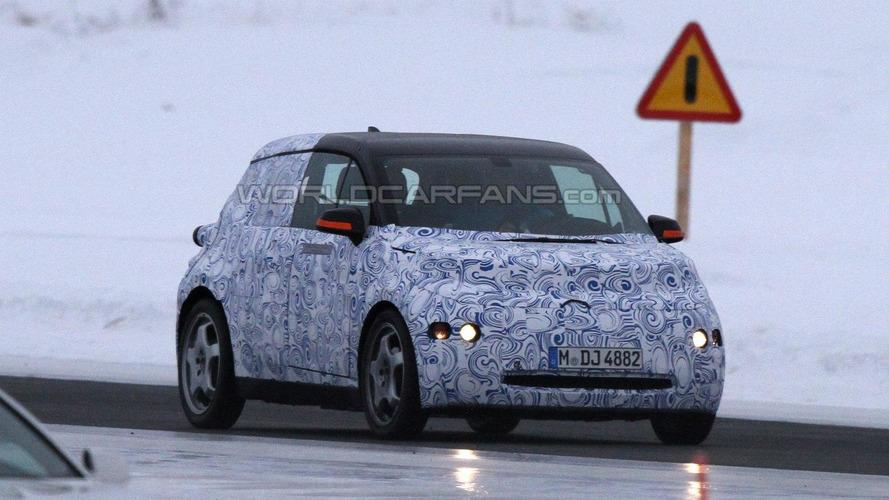 BMW i3 MegaCity vehicle first spy photos in Scandinavia