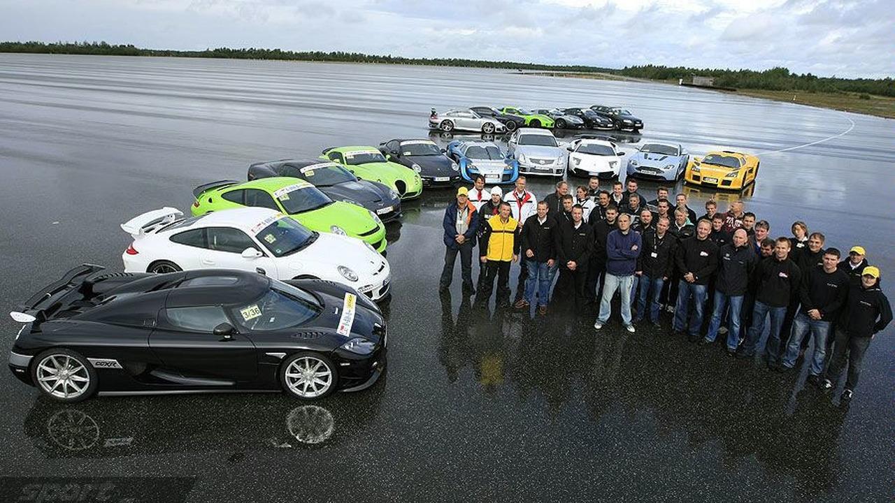 Sport Auto Super Sportcar Performance Test, 09.2009