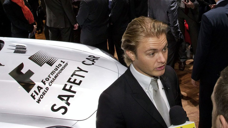 Schumacher & Rosberg Introduce Mercedes SLS F1 Safety Car [Video]