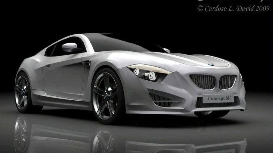 BMW M6 Concept Renderings Speculates the Future