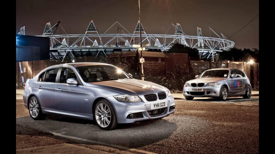BMW Série 1 e Série 3 ganham edição especial em alusão às Olimpíadas de 2012