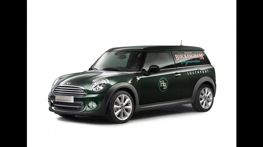 Versão de trabalho: MINI mostrará Clubvan Concept no Salão de Genebra