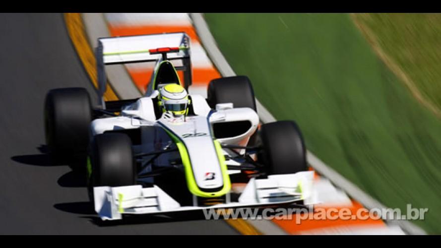 Fórmula 1: Button larga na pole na Malásia, Barrichello em nono e Massa em 16° - Veja o grid