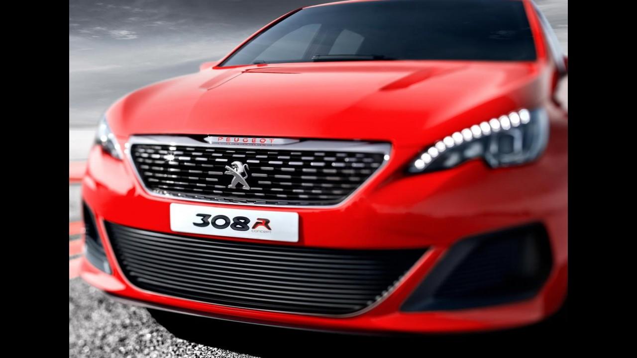 Peugeot revela 308R Concept de 270 cv para encarar o Golf GTI