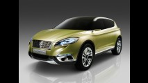 Suzuki S-Cross Concept também tem primeiros detalhes oficiais divulgados antes de Paris