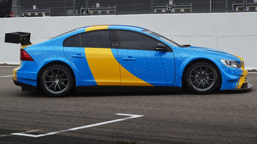 2018 volvo polestar s60. plain s60 volvo s60 polestar wtcc art car created by swedish prince revealed for  goodwood throughout 2018 volvo polestar s60