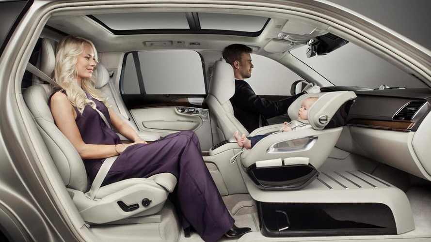 Volvo unveils new child seat concept that can swivel [video]