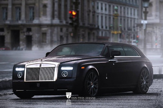 Rolls-Royce Phantom, Bentley Mulsanne Envisioned as Seductive Wagons