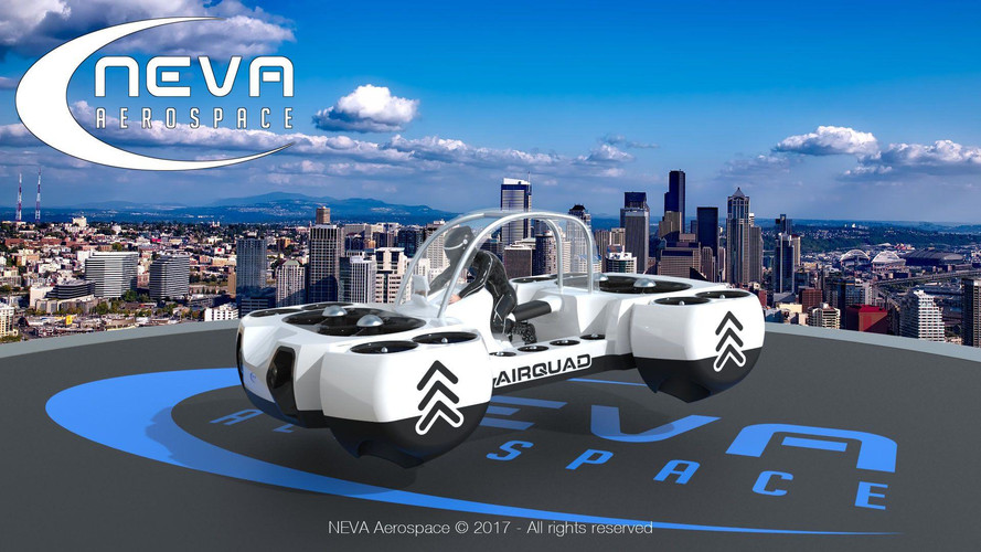 Flying Quad Bike Brings Us One Step Closer To Real HeliCarrier