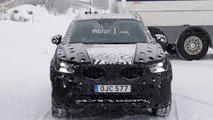 2018 Volvo XC40 casus fotoğrafları
