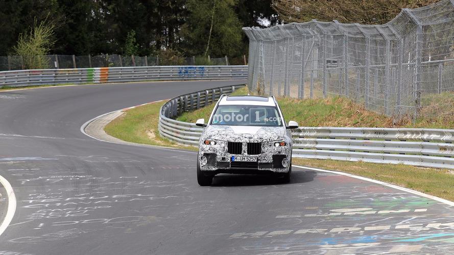 BMW X7 - Flagra em Nurburgring