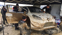 Toyota Yaris WRC 2017 Test