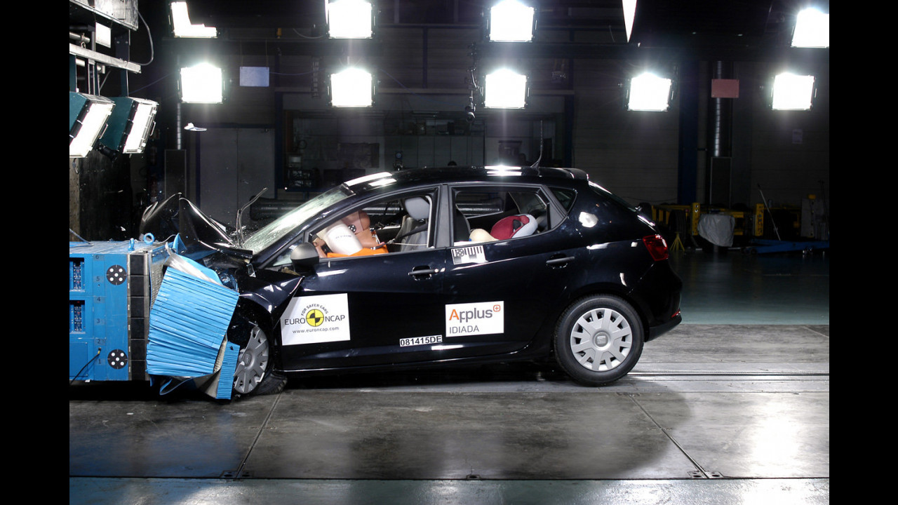 Crash Test nuova Seat Ibiza