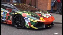 Lamborghini Aventador per i Mondiali 2014