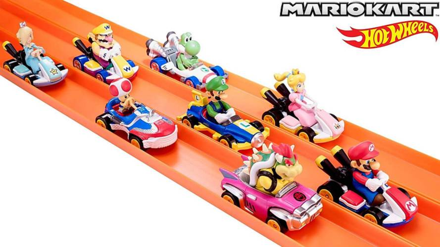 Hot Wheels and Mario Kart team up for 2019 toy line