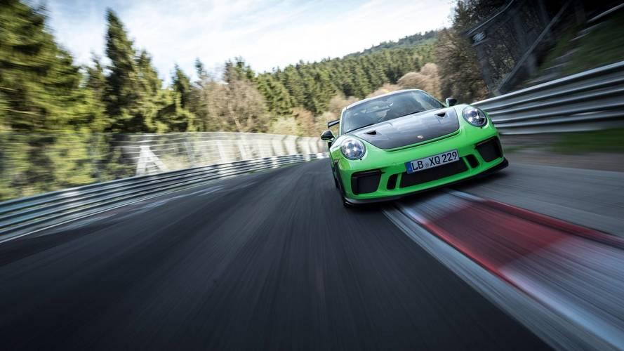 Porsche 911 GT3 RS: vuelta rápida a Nürburgring en 6'56'4