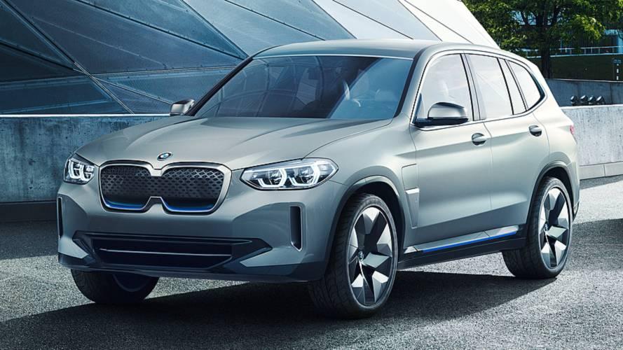 BMW iX3, il SUV elettrico nascerà in Cina