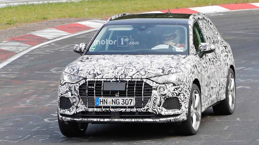 Audi RS Q3 Casus Fotoğraflar