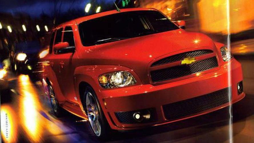 Chevrolet HHR SS Brochure Leaked
